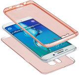 360 caso protetor do grau TPU para Samsung S7edge
