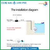 fábrica subaquática da luz da associação do diodo emissor de luz de 54W RGB