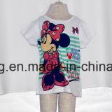 2017人の新しいミニーマウスの女の子のTシャツ