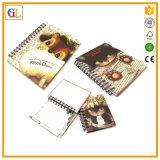 Cuaderno de la cubierta de la impresión para la fuente de la escuela y de oficina