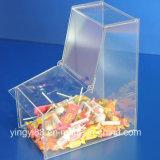 Boîte à bonbons en acrylique de haute qualité avec 2 plateaux