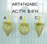 """3 """", 5"""" H 6 """"H Bead + Ornamentos de la tela-3asst-Adornos de la Navidad"""