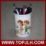 Support en céramique personnalisé de crayon lecteur de sublimation de cadeaux