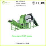 Dura-Tagliuzzare la pianta di riciclaggio tradizionale della gomma del crivello a tamburo per i chip di Tdf