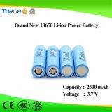 Batería recargable al por mayor del Auk de la batería 3.7V 2500mAh del Li-ion 18650 para los juguetes eléctricos