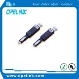 Attenuatore fisso ottico della fibra di Mu/Mu-10dB (femmina-femmina)
