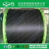 """50ohm câble en aluminium de tube de la perte inférieure 1/2 flexible """""""