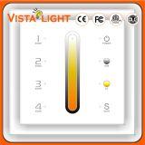 4 Zonen-Steuerscreen-Panel LCD-Monitor für Licht