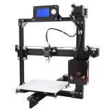 Impressora de alumínio do frame DIY 3D de Anet A2 com nível de Aulto