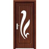 Porta da madeira do PVC de China