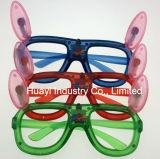 LED leuchten Kaninchen geformten Sonnenbrillen