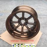 L'alluminio ha forgiato la rotella della lega della replica del Watanabe degli orli via Jwl