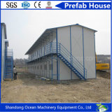 Casa Prefab Energy-Saving da construção de aço para o armazém do escritório do dormitório do trabalhador
