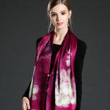 Doppelseitiges Drucken-Silk Schal-Schal für Frauen