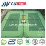 Brandkast en de Vloer van de Sport van het Comfort voor de Deklaag van de Tennisbaan