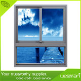 Buen vidrio de desplazamiento doble horizontal de la calidad Aluminium/Aluminum Windows