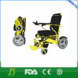 Puissance forte pliant le fauteuil roulant motorisé de courant électrique
