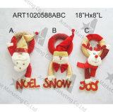 크리스마스 산타클로스 눈사람 큰사슴 카운트다운 선물, 3 Asst 크리스마스 훈장