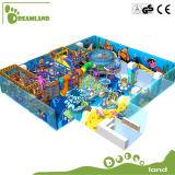 Equipamento interno plástico do campo de jogos do grande tamanho popular padrão da UE