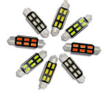 Lámpara libre entera del automóvil de Canbus Erro LED del adorno de los lúmenes 31/36/39/42m m C5w 5730 de la venta 12V del precio de fábrica de Lightpoint alta
