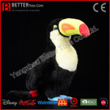 Brinquedo gigante macio enchido de Toucan do luxuoso de Toco Toucan Toucan do animal