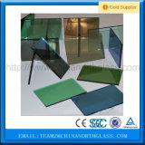bronze de 3mm-10mm, cinza, azul, vidro reflexivo verde