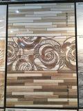 Azulejo de cerámica de la pared de la impresión brillante 3D del mármol del material de construcción