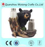 Домашние декоративные Figurines медведя охлаждают держатели перца смолаы