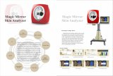 Multi Functionele Fabriek die de GezichtsApparatuur van de Schoonheid van de Analysator van de Huid verkopen