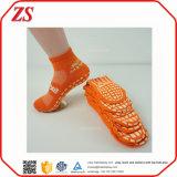 Personalizzato all'ingrosso non slittare i calzini dell'interno di salto del trampolino