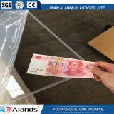 Jinan Alands 공급 Virgin 물자 2mm 공간은 아크릴 장을 던졌다