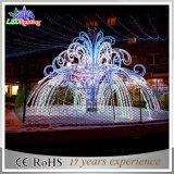 クリスマスの装飾LEDの噴水のモチーフライトの外の工場価格