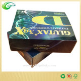 Cadre de empaquetage de papier d'effet 3D de qualité avec le logo gravé en relief (CKT-CB-501)