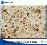 SGS 보고 (두 배 & 다중 색깔)를 가진 단단한 표면을%s 튼튼한 석영 인공적인 돌
