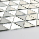 Hojas de cristal negras al por mayor del azulejo de mosaico de China para la cocina Backsplash