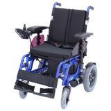 Fauteuil roulant Handicapped se pliant d'alimentation électrique d'Aluminym (EP61)