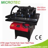 Máquina aberta da imprensa do calor do automóvel para a máquina de transferência do grande formato