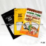 Beef Jerky Imballaggio Sacchetto con gancio Hole