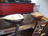 Bois d'ébène et bois de rose pour des dos de luth