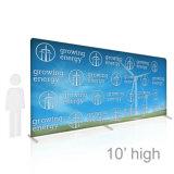 8FT, котор экспо хлопает вверх фон торговой выставки системы ткани стены рекламируя стену будочки ткани напряжения формулируют стойку индикации