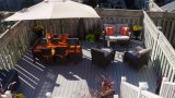 Suelo sólido de WPC para el Decking de madera al aire libre, compuesto