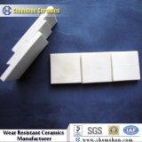 Wear Anti Alumina revestimento de tijolos de cerâmica com bloqueio