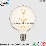 MTX nueva bombillas LED retro E27 3W Edison vendimia bombilla vela led de luz de la lámpara 110V / 220V G125