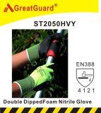 Перчатка пены нитрила Supershield (ST2050HVY)