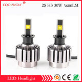 경쟁가격을%s 가진 공장 직매 2s H3 30W 2800lm LED 차 LED 헤드라이트 전구 Headlamp