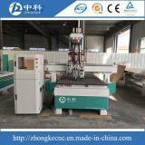 Drei Köpfe pneumatische CNC-Fräser-Maschinen