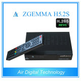 O linux gêmeo HD PVR do afinador DVB-S/S2 apronta o receptor satélite com Hevc H. 265 Zgemma H5.2s