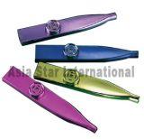Metaal Vier Kleur Plastic Kazoo