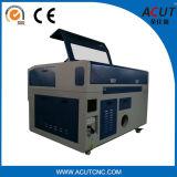 Cortadora del laser del CNC de China Acut 6090 con 100 vatios