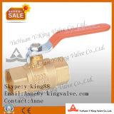 Latón forjado válvula de bola de agua (YD-1021)